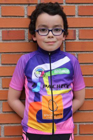 Aaron Navarro - Club ciclista Ermitagaña - Categoría Escuelas 2016