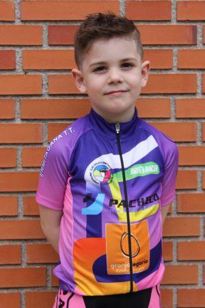 Fabio Rocholi - Club ciclista Ermitagaña - Categoría Escuelas 2016