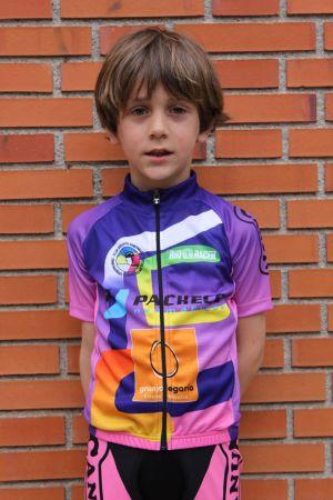 Hugo Alonso - Club ciclista Ermitagaña - Categoría Escuelas 2016